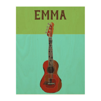Personalized Add Your Name Guitar wall art