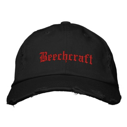 Personalized Adjustable Hat-BEECHCRAFT Embroidered Hats