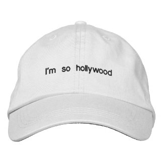 Personalized Adjustable Hat Embroidered Baseball Cap