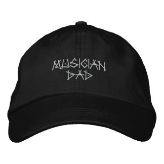 Personalized Adjustable Hat Musician Dad Embroider Embroidered Baseball Cap
