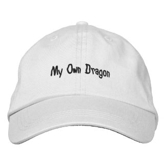Personalized Adjustable Hat; My Own Dragon Design Embroidered Baseball Caps