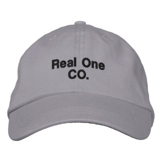 Personalized Adjustable Real One Casual Embroidered Cap
