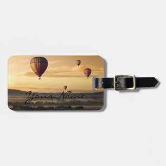 Personalized|| adventure|| Hot air balloons Luggage Tag