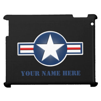 Personalized Air Force Logo iPad Case