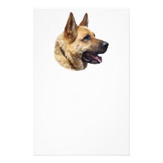 Personalized Alsatian German Shepherd dog Flyer Design