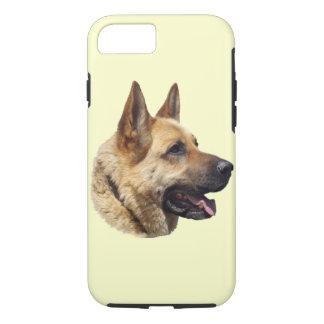 Personalized Alsatian German Shepherd dog iPhone 8/7 Case