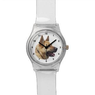 Personalized Alsatian German Shepherd dog Watch