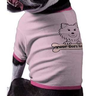 Personalized American Eskimo Dog T Shirt