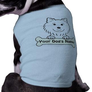Personalized American Eskimo Dog Tshirt