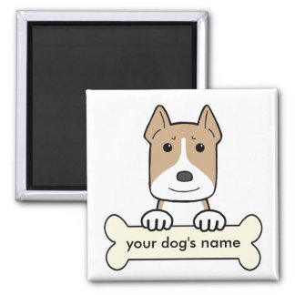 Personalized Amstaff Magnet