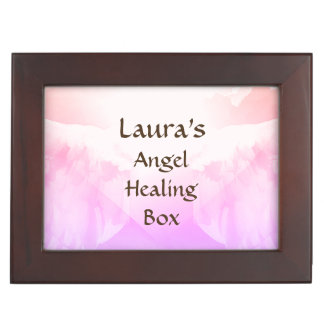 Personalized Angel Blessing keepsake box