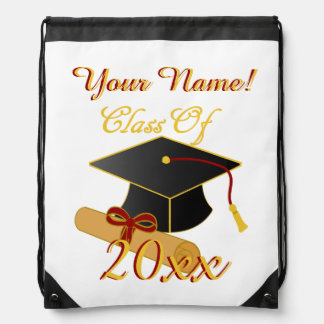 Personalized ANY Class Year Drawstring Backpack
