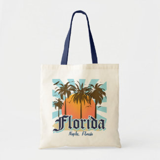 Personalized (Any Town) Florida Budget Tote Bag