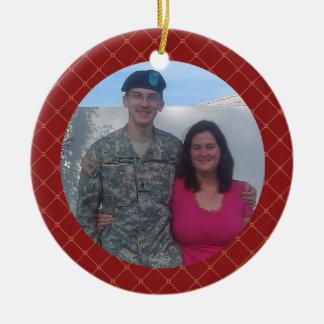 Personalized Army Family Christmas Keepsake Gift Christmas Ornament
