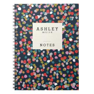 Personalized | Ashley Dots Notebooks