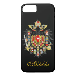 Personalized Austria Hungary Empire iPhone 7 Case