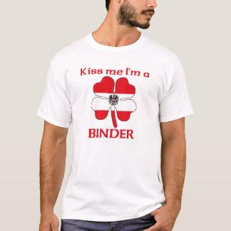 Personalized Austrian Kiss Me I'm Binder T-Shirt