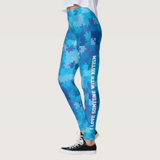Personalized Autism Awareness Leggings