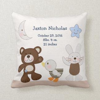 Personalized B is for Bear/Teddy Bear Keepsake Cushion