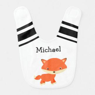 Personalized Baby Fox Bib