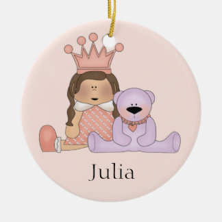 Personalized Baby Girl Ornament