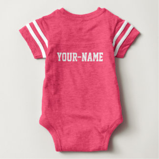 Personalized Baby MVP Football Jersey Bodysuit
