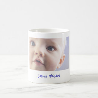 Personalized Baby Photo Coffee Mug