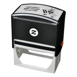 Personalized Baby Shower Self-inking Stamp