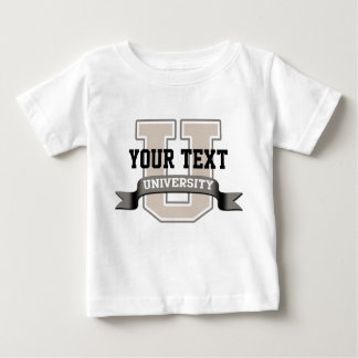 Personalized Baby University Baby T-Shirt