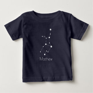 Personalized Baby Virgo Zodiac Constellation Baby T-Shirt