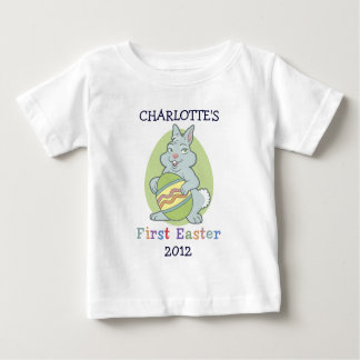 Personalized Baby's First Easter Baby T-Shirt