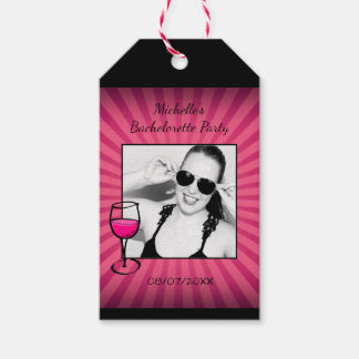Personalized Bachelorette Frame Gift Tags