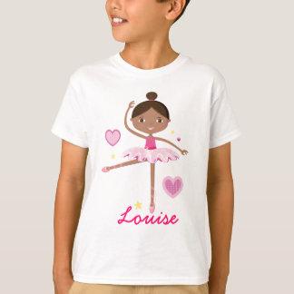 Personalized Ballerina B Tee Shirt
