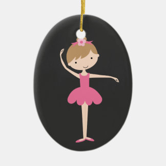 Personalized Ballerina Christmas Ornament