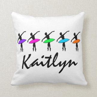 Personalized Ballet Dance Teacher Ballerina Tutu Cushion