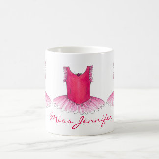 Personalized Ballet Dance Teacher Holiday Gift Mug