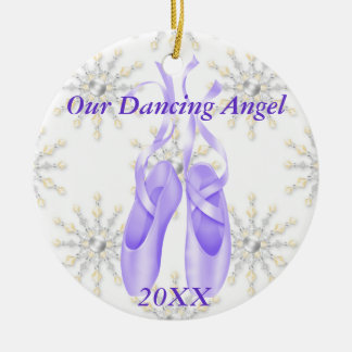 Personalized Ballet/Dancing Ornament 2012