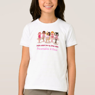 Personalized Ballet T-shirt