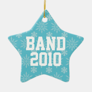 Personalized Band Music Christmas Ornament Gift