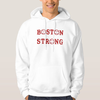 Personalized Baseball Boston Strong Hoodies