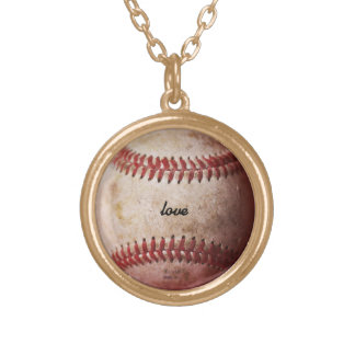 Personalized Baseball Fan Women's Necklace