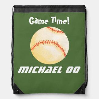 Personalized Baseball Game Backpacks