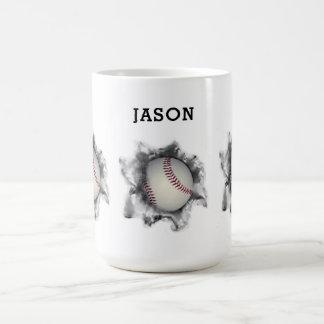 personalized baseball gifts coffee mug