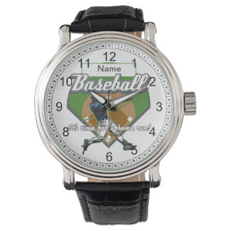 Personalized Baseball Home Run Watch