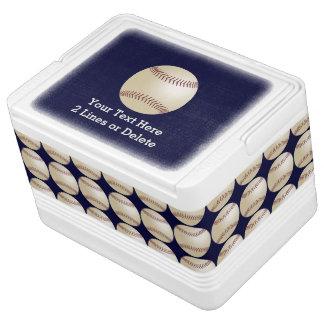 Personalized Baseball Igloo Cooler