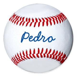 Personalized Baseball Photo Design 5.25x5.25 Square Paper Invitation Card