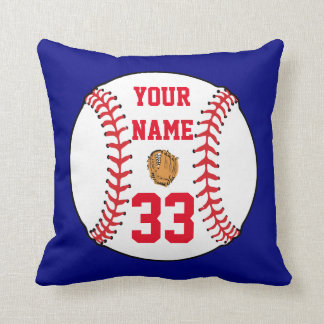 Personalized Baseball/ Softball Cushion