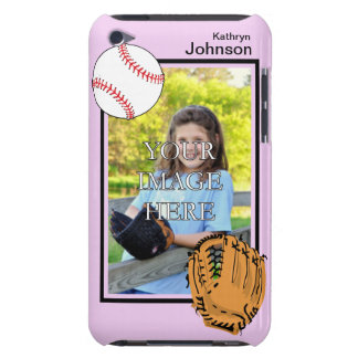 Personalized Baseball/Softball iPod Touch Case