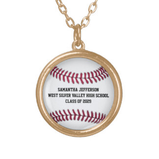 Personalized Baseball Softball Sports Pendant