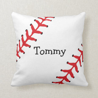 Personalized Baseball Throw Pillow Throw Cushions